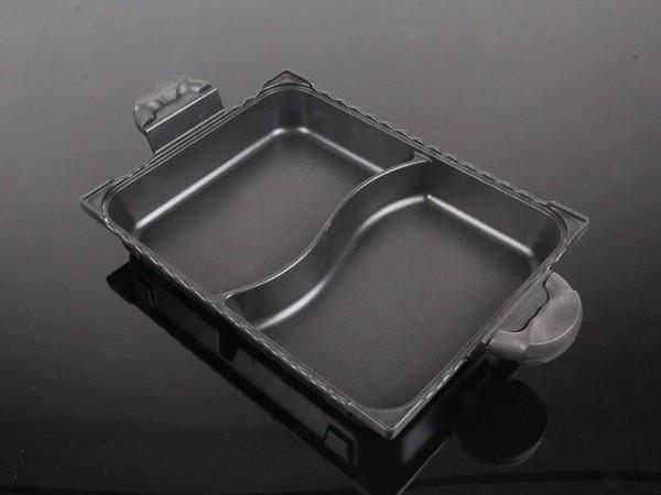 方形鸳鸯锅