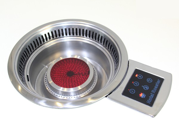 浙江下排烟一体红外线电烧烤炉
